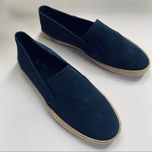 Comfortable suede summer shoes